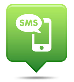 text message marketing icon